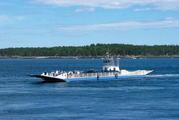 CAMPOBELLO NEW BRUNSWICK FJORD EASTPORT MAINE INDIAN LIGHTHOUSE FISHING SAILBOAT