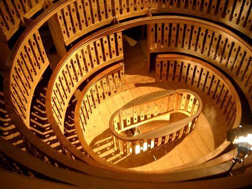 palazzo del bo anatomical theater padua italy atlas obscura