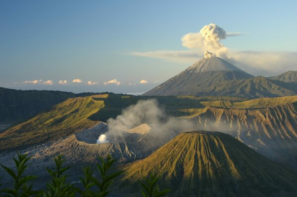 Gunung Bromo in Tosari, Indonesia