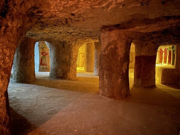 Three Kings Catacombs in Tizimín, Mexico