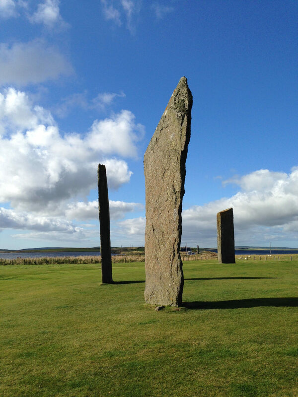 how to get to orkney from london
