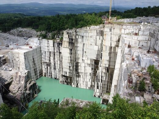 Rock Of Ages Granite Quarry Barre Vermont Atlas Obscura