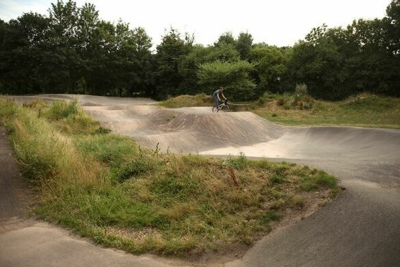 Extreme Bike Course in Haggerston Park – London, England - Atlas Obscura