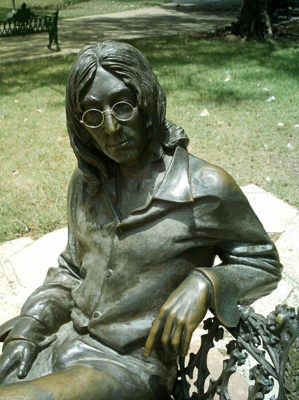 John Lennon Statue Havana Cuba Atlas Obscura