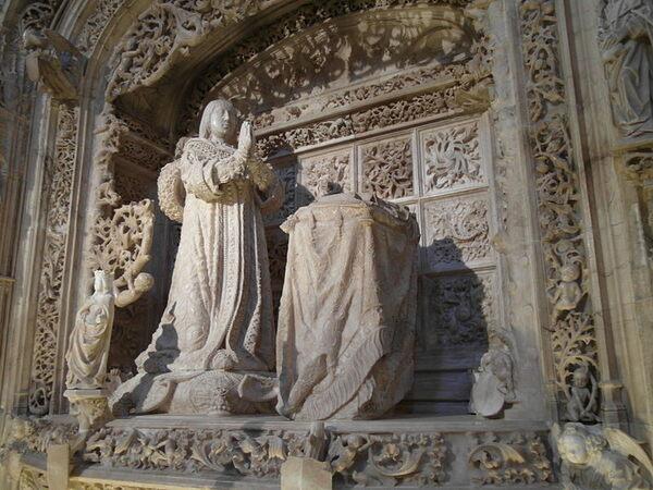 Cartuja de Miraflores in Burgos, Spain