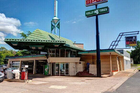Frank Lloyd Wright Gas Station Cloquet Minnesota Atlas Obscura