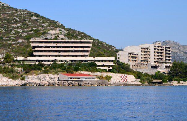 The Abandoned Hotels Of Kupari Kupari Croatia Atlas Obscura