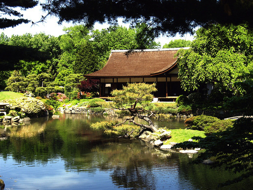 Shofuso Japanese House And Garden Philadelphia Pennsylvania Atlas Obscura