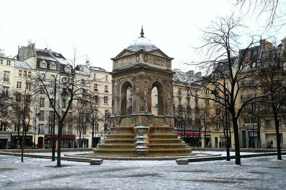 Fountain of Innocents – Paris, France - Atlas Obscura