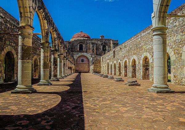 Ex-Monastery of Santiago Apóstol in Cuilápam de Guerrero, Mexico