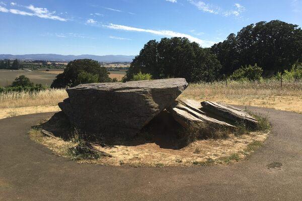 Erratic Rock State Natural Site in McMinnville, Oregon