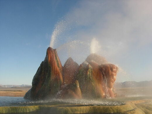 Fly Geyser Ken Lund On Wikipedia Creative Commons
