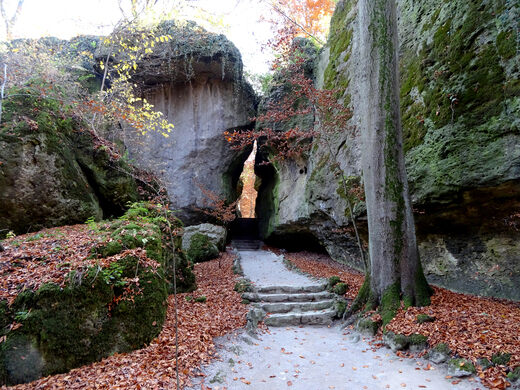 Sanspareil Rock Garden Wonsees Germany Atlas Obscura