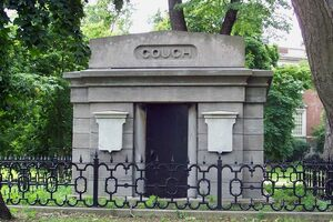 The tomb was built in the 1850s.