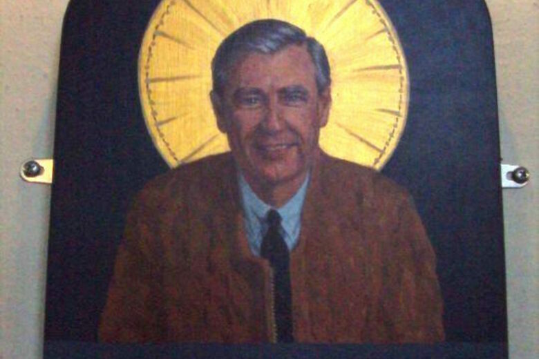 Mister Rogers Icon At St Paul S Church Nantucket Massachusetts Atlas Obscura