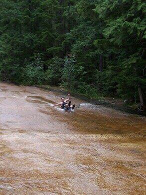 Lionhead Natural Water Slides – Coolin, Idaho - Atlas Obscura