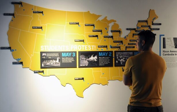 Kent State May 4 Visitors Center – Kent, Ohio - Atlas Obscura on pittsburgh oh map, miami oh map, cincinnati oh map, toledo oh map, washington oh map, akron oh map,