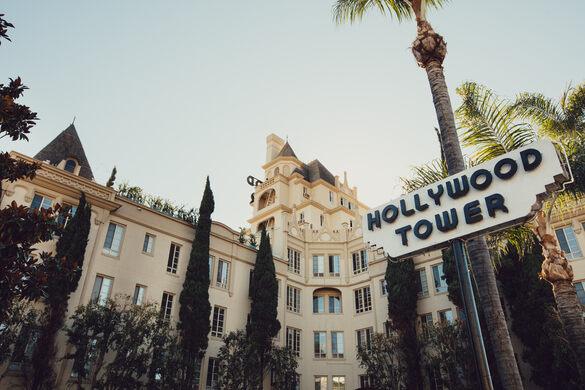 Hollywood Tower Apartments Los Angeles California Atlas