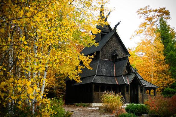Washington Island Stave Church Washington Wisconsin