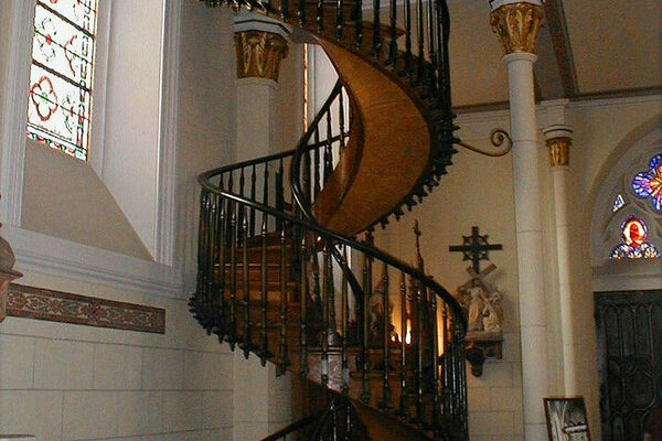 Loretto Chapel Santa Fe New Mexico Atlas Obscura