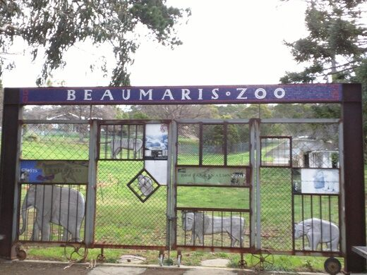the ruins of hobart zoo queens domain australia atlas obscura