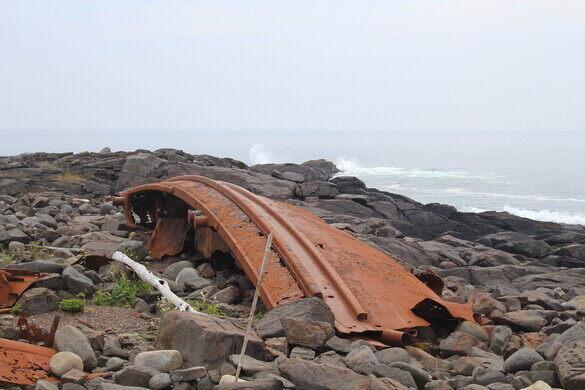 D T  Sheridan Shipwreck – Monhegan, Maine - Atlas Obscura