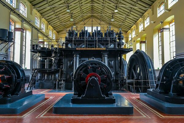 Nave de Motores de Pacífico (Pacifico Engine Shed) in Madrid, Spain