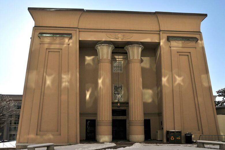 Egyptian Building West Facade