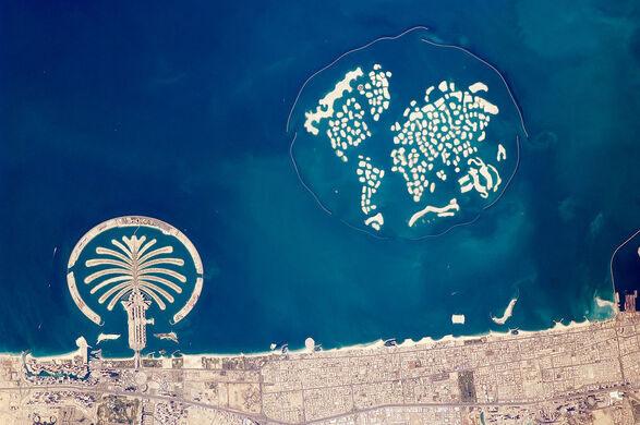 The World Islands Dubai United Arab Emirates Atlas Obscura