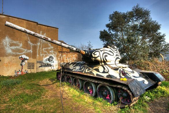 Stompie The Mandela Way T 34 Tank England Atlas Obscura