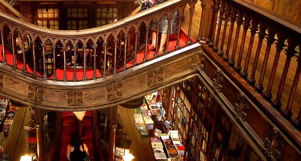 Livraria Lello Porto Portugal Atlas Obscura