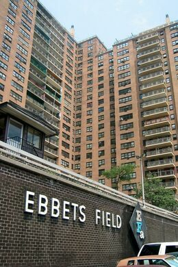 Brooklyn New York Ebbets Field Apartments