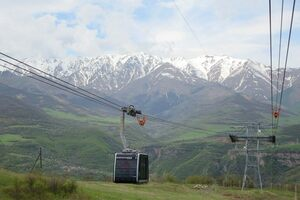 Wings of Tatev cable car.