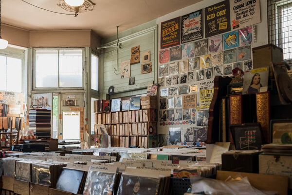 Jack's Record Cellar in San Francisco, California