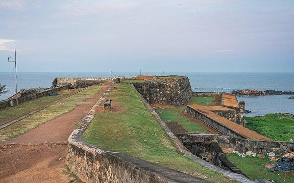 Galle Fort in Galle, Sri Lanka