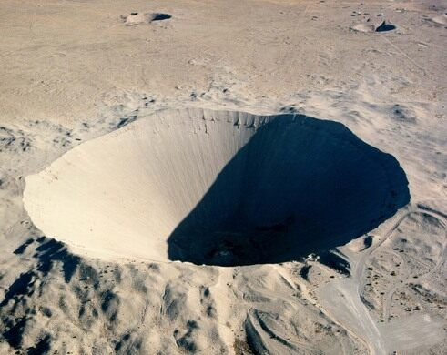 Sedan Crater – Nye County, Nevada - Atlas Obscura
