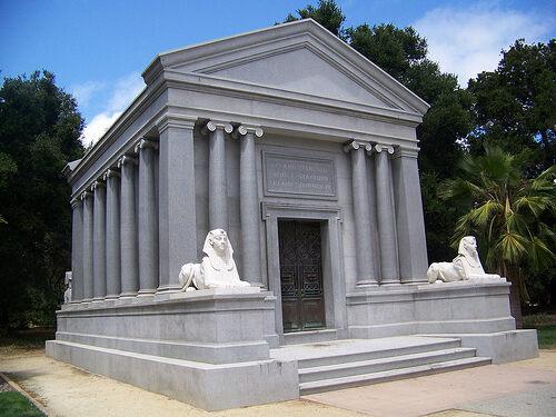 stanford mausoleum palo alto california atlas obscura