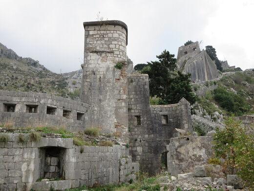 Fortifications Of Kotor Kotor Montenegro Atlas Obscura