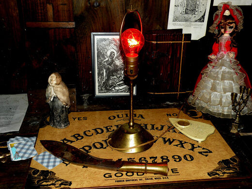 The Warren's Occult Museum – Monroe, Connecticut - Atlas Obscura