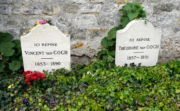 Grave of Vincent and Theo van Gogh – Auvers-