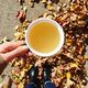 A cup of switchel for an autumn day.