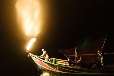 Jinshan Sulphuric Fire Fishing Festival