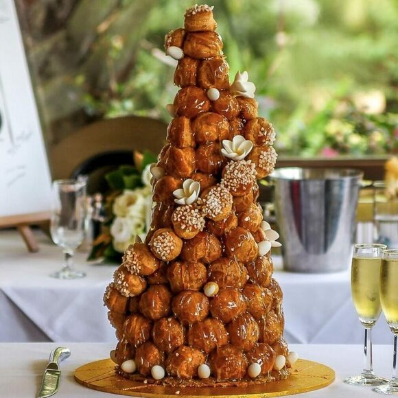 The French wedding cake.