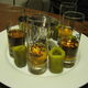 A set of picklebacks with extra pickle flavor.