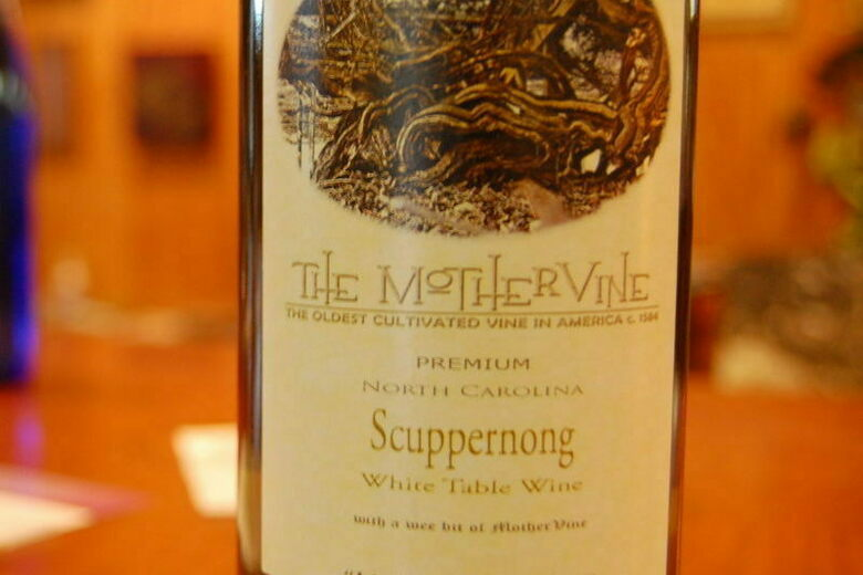 Mother Vine Scuppernong Wine