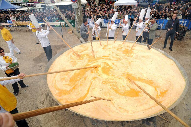 Giant Omelette Festival