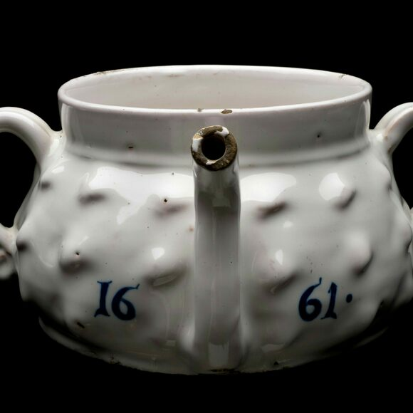 Posset pot, London, England, probably 1661.