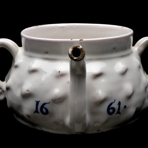 Posset pot, London, England, probably 1661.