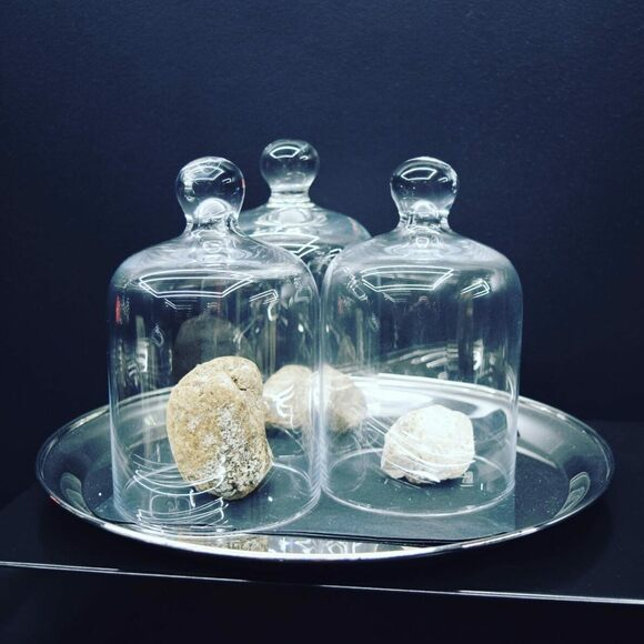 Jars of ambergris.