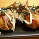 An upscale rendition of takoyaki served in Melbourne, Australia.